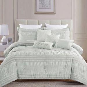 Tamiko Luxury 7 piece comforter set -